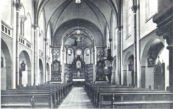 Kirche um 1910-1920
