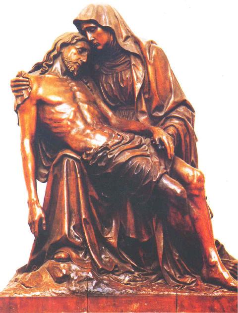 Pieta Aus der Kirche
